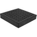 "Natural Rubber Load Bearing Pad - 6""L x 6""W x 1""H"