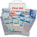 Global Industrial First Aid Kit - 25 Person, ANSI Compliant, Plastic Case