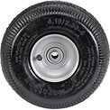 "Marathon 20010 4.10/3.50-4 Sawtooth Tread Pneumatic - 2.25"" Offset - 5/8"" Bearings"
