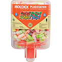 Moldex 6644 SparkPlugs® PlugStation® Earplug Dispensers, 250 Pairs/Dispenser