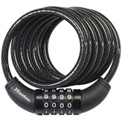 "Master Lock® Combination Cable Lock, 72"" - No. 8114D - Pkg Qty 2"