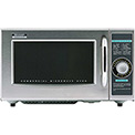 "Sharp R-21-LCF - Commercial Microwave Oven, Medium Duty, 1000W, Gray, 20-1/2""W x 16""H x 12-1/8""D"