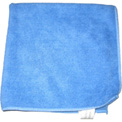"Perfect Products Microfiber Cloths 16""x16 "", Blue 200/Pack - CSA002E - Pkg Qty 200"