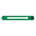 Precoiled and Strap-on Pipe Marker - Direction Arrow