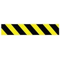 Printed Barricade Tape - Yellow and Black Stripe - 200 Feet