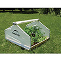 ShelterLogic, 70619, GrowIt Backyard Raised Bed Greenhouse- Peak Style 4 ft. x 4 ft. x 2-5/16 ft.