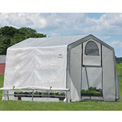 "ShelterLogic 70656 GrowIt® Greenhouse-in-a-Box®, 10' x 10' x 8', 1-3/8"" Frame Sz"