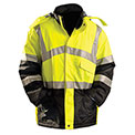 Premium Parka, Hi-Vis Yellow, 4XL