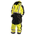 Speed Collection® Premium Cold Weather Coverall, Hi-Viz Yellow, 3XL
