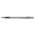 Bic® Ultra Round Stic Grip Ballpoint Stick Pen, Medium, Black Ink, Dozen