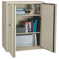 FireKing® Fireproof Storage Cabinet CF4436-DPA, 1-Hour Fire Rating 36 x 19-1/4 x 44 Parchment