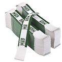 PM Company Color-Coded Kraft Currency Straps 55028, Dollar Bill, $200, Self-Adhesive, 1000/Pack