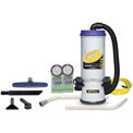 "ProTeam® 10 Qt. Super CoachVac HEPA Backpack Vac w/ 14"" Floor Tool, Wand Kit - 107109"