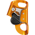 Petzl® Croll® Chest Rope Clamp, Steel/Aluminum, Gold