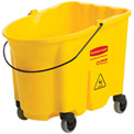 Rubbermaid Wavebrake® 7570-88 Mop Bucket, Yellow