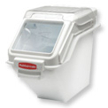 Rubbermaid Commercial FG9G5700WHT - ProSave™ Storage Ingredient Bin, 100 Cup Capacity