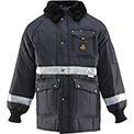 Iron Tuff™ Enhanced Visibility Siberian™ JackoatRegular, Navy - XL