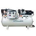 Powerex STD050342HP 10 HP Oil-less Scroll Compressor 80 Gallon Horizontal 145 PSI 3 Phase 460V