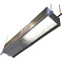 36 Inch RFD Series Industrial Air Curtain, 208V, Unheated, 1 Motor Stainless Steel