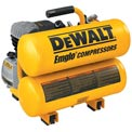 DeWALT D55153, 1.1 HP Continuous 4 Gallon Electric Hand Carry Compressor, 90 PSI
