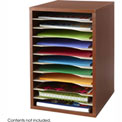 Vertical Desk Top Sorter - 11 Compartment
