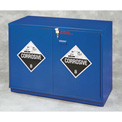 "34x2.5 Liter, Under-the-Counter Corrosive Cabinet, Fully Lined, 35""W x 22""D x 35-1/2""H"