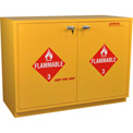 "52 Gallon, Under-the-Counter Flammable Cabinet, Self-Closing, 47""W x 22""D x 35-1/2""H"