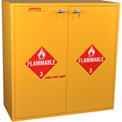 "54 Gallon, Flammable Cabinet, Manual Close, 43""W x 18""D x 44-5/8""H"