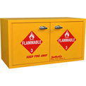 "8 Gallon, Mini Stak-a-Cab™ Flammable Cabinet, Self-Closing, 31""W x 14-1/2""D x 17""H"
