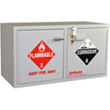 "Mini Stak-a-Cab™ Combo Acid/Flammable Cabinet w/Self-Closing, 31""W x 14-1/2""D x 17""H"