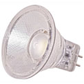 Satco S9551 1.6W LED MR11 LED 40' Beam Spread G4 Base 5000K 12V