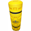 "Column Sentry® Column Protector, 6""x 6"" Square Opening, 24"" O.D. x 42""H, Yellow"