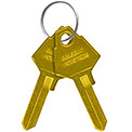 Salsbury Key Blanks 11129 - for Key Padlocks of Solid Oak Wood Lockers - Box of 50