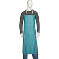 "San Jamar 614DVA20-GN - Dishwashing Apron, 36"" x 45"", Extra Long Braided Ties, Green, No Pockets"