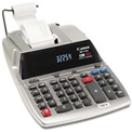 """Canon® 12-Digit Calculator, MP11DX, 2 Color Printing, 8-3/5"""" X 12"""" X 3-1/5"""", Grey"""
