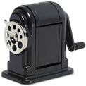 Elmer's® Pencil Sharpener, Wall Mount, Black/Chrome