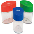 "Integra™ Plastic Sharpener, Oval, 2-1/8"", Assorted"