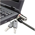 Kensington® 64590 MicroSaver® DS Ultra-Thin Keyed Laptop Lock with 5 ft. Cable, Black