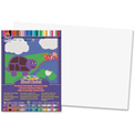 """Pacon® SunWorks Groundwood Construction Paper, 18""""x12"""", Bright White, 50 Sheets"""