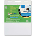 "GoWrite Self-Stick Easel Pad - 25 Sheet - 1.99 lb - 20"" x 23"" - White Paper"