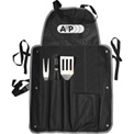 BBQ Apron Set, 4 Piece