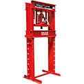 Sunex Tools 5720AH - 20 Ton Air/Hydraulic Shop Press - Fully Welded - Made in USA