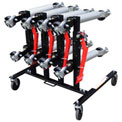 Optional Rack 7709 for Sunex® Car Dolly 7708 - Holds Up to 4 Dollies