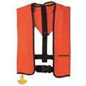 Stearns® Ultra 3000 Manual Inflatable Life Jacket, Orange, Nylon, Universal