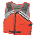 Stearns® Deck Hand™ Life Vest, USCG Type III, Orange, Nylon, 2XL