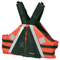Stearns® Low Profile Flotation Vest, USCG Type III, Orange, Nylon, 2XL