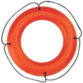 "Stearns® 24"" Ring Buoy, USCG Type IV, Orange"