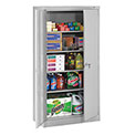 "Tennsco Standard Storage Cabinet 7224 053  - Welded 36""W X 24""D X 72""H, Light Grey"