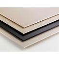 AIN Plastics UHMW Plastic Sheet Stock, 12 in. L x 12 in. W x 2-14 in. Thick, Natural