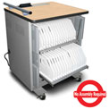 Marvel® 32-Tablet Power Center Series Charge & Sync Cart